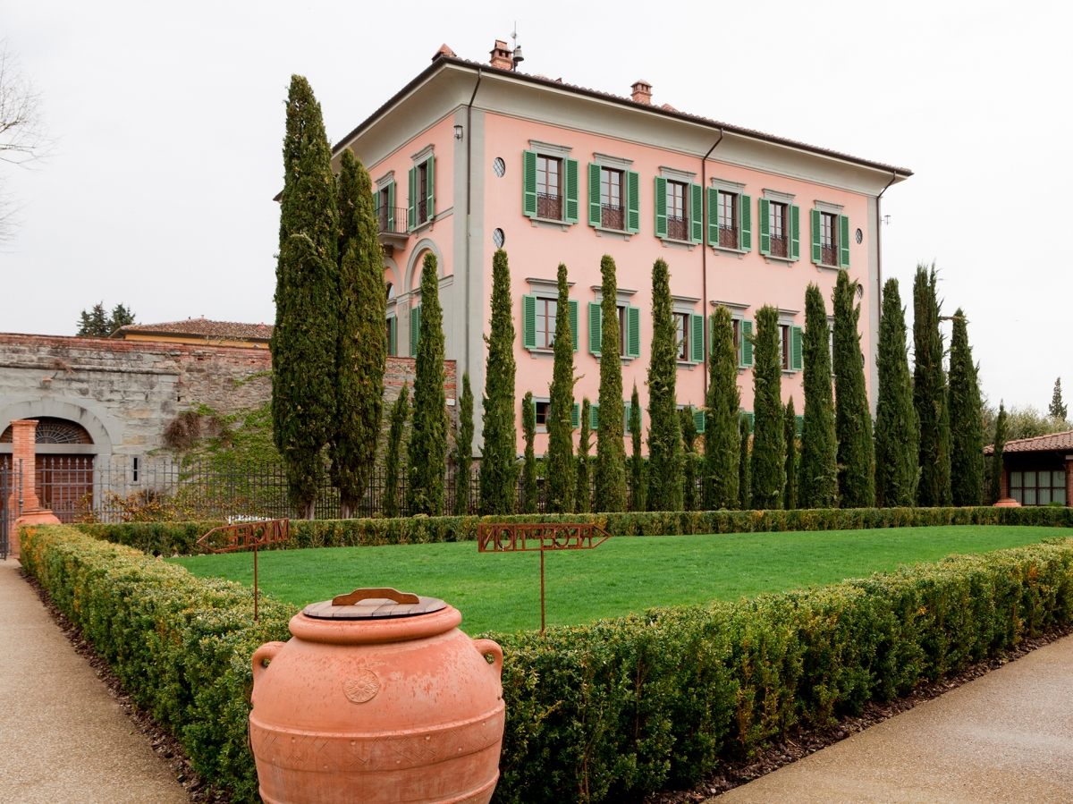 Dating back to 19th century, Villa Il Borro is the most sumptuous villa on the estate