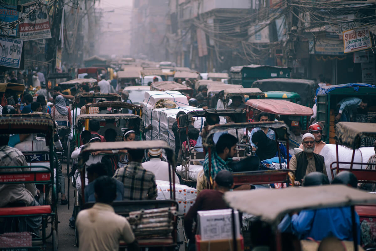 Delhi: an aesthetic adventure in India's chaotic capital