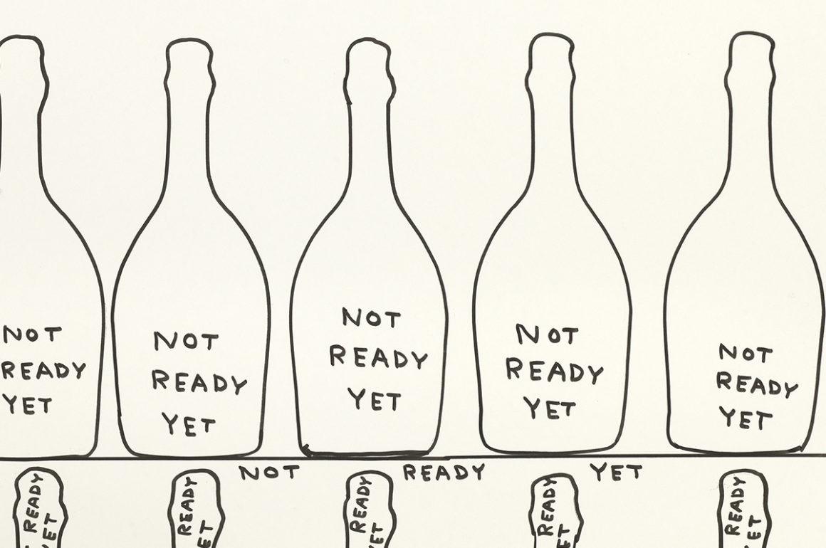 Drawings of bottles