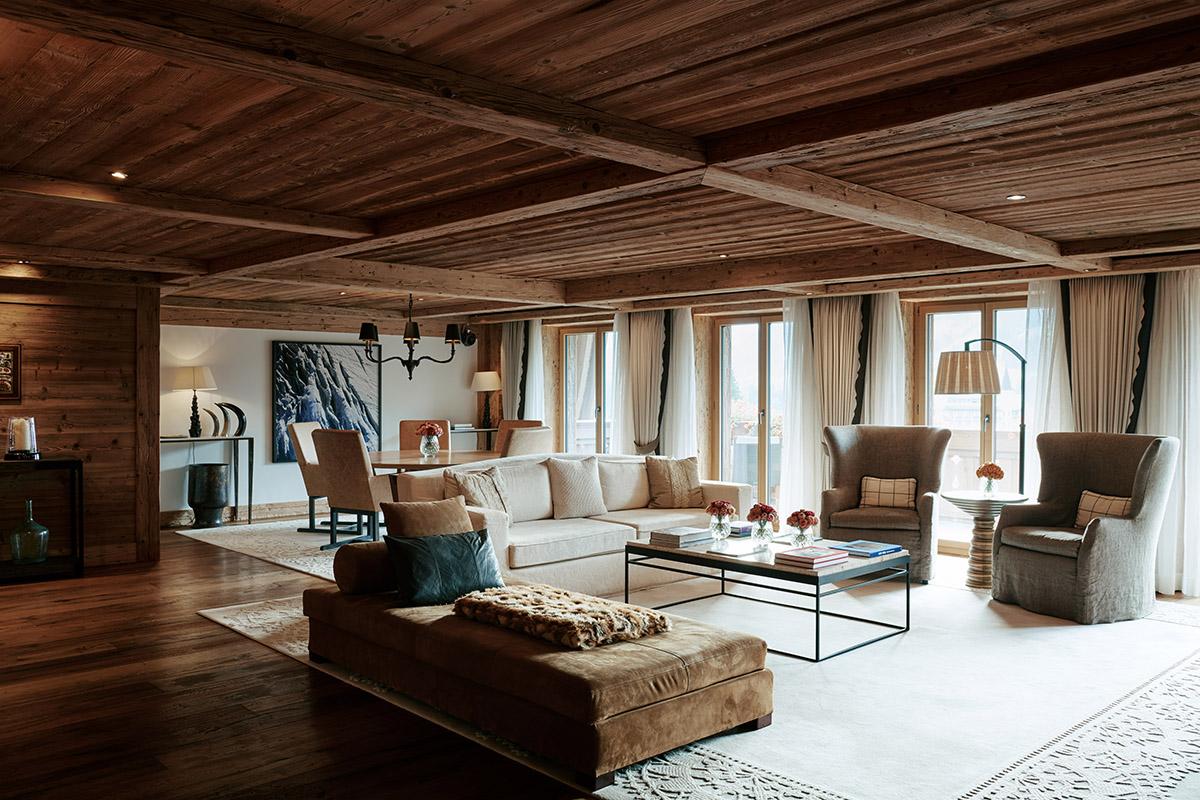 luxurious hotel interiors