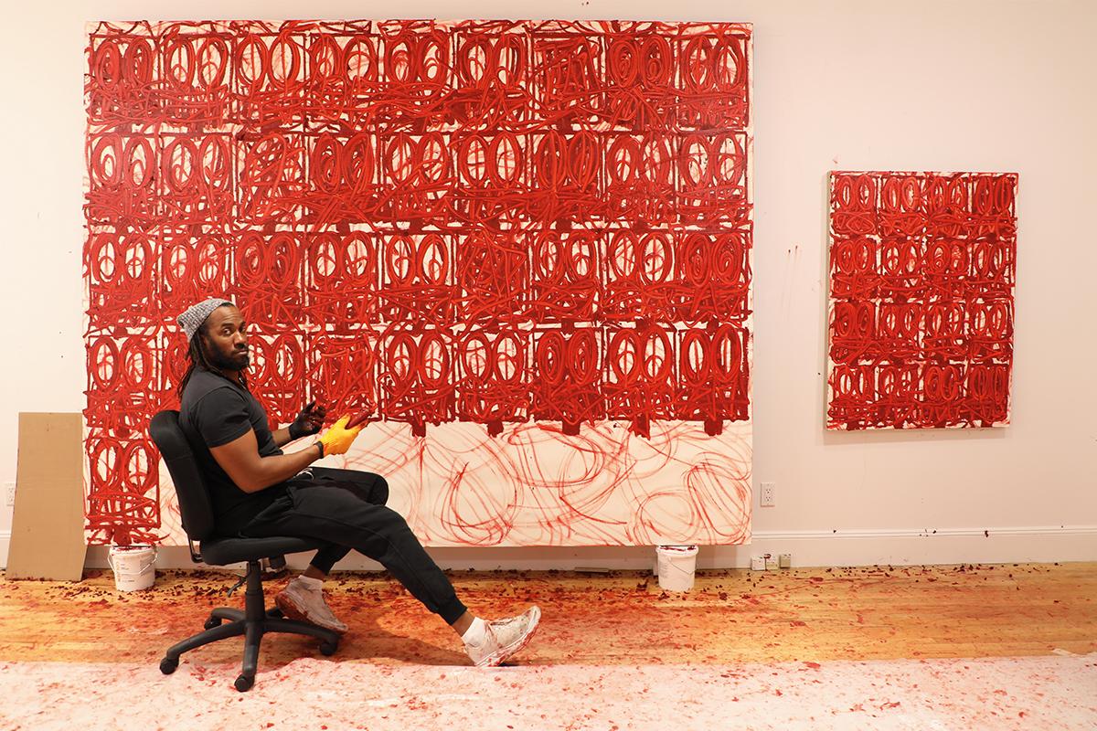 Speaking with America's new art icon Rashid Johnson